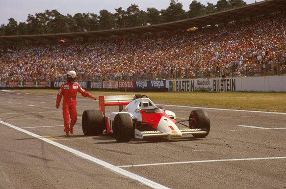 1986 German Grand Prix.