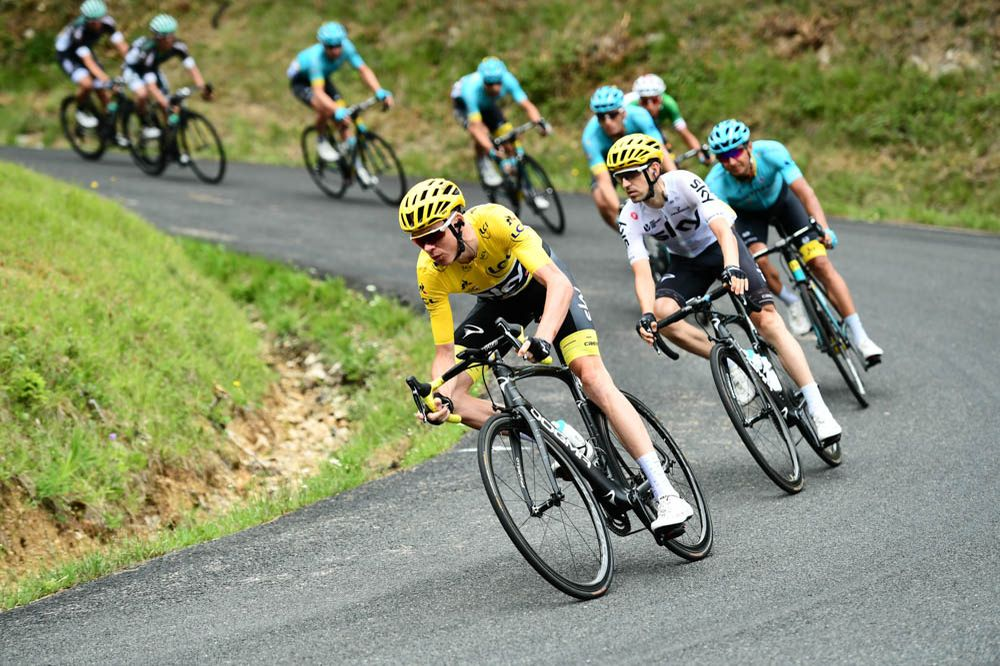 Tour de France 2017 - 09/07/2017 - Etape 9 - Nantua / Chambéry (181,5 km) - France - Christopher FROOME (TEAM SKY)