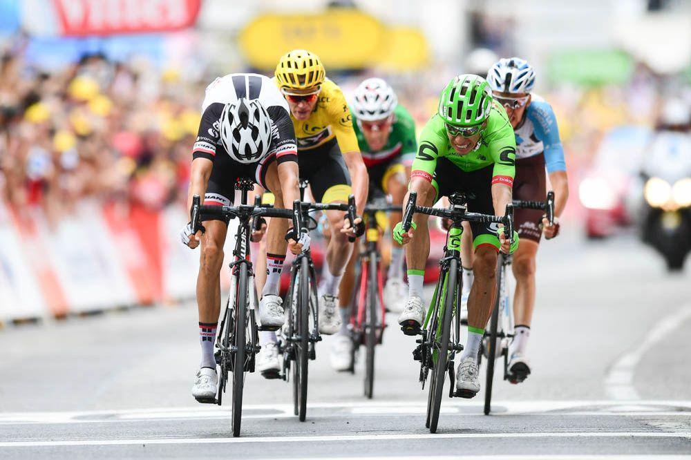 Tour de France 2017 - 09/07/2017 - Etape 9 - Nantua / Chambéry (181,5 km) - France - Rigoberto URAN (CANNONDALE DRAPAC PROFESSIONAL CYCLING TEAM) - Vainqueur de l'étape 9
