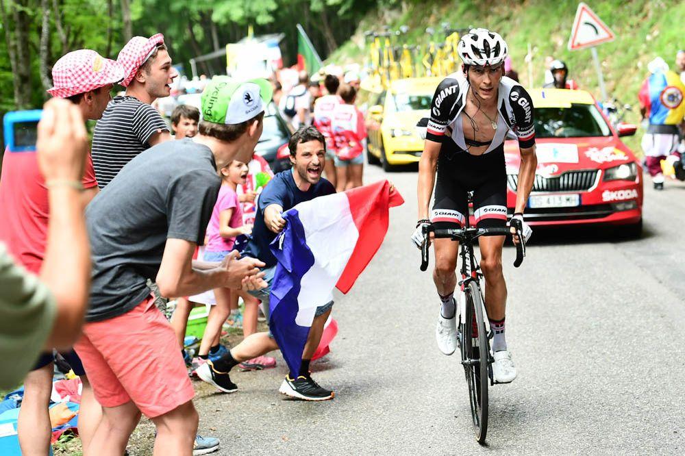 Tour de France 2017 - 09/07/2017 - Etape 9 - Nantua / Chambéry (181,5 km) - France - Warren BARGUIL (TEM SUNWEB)
