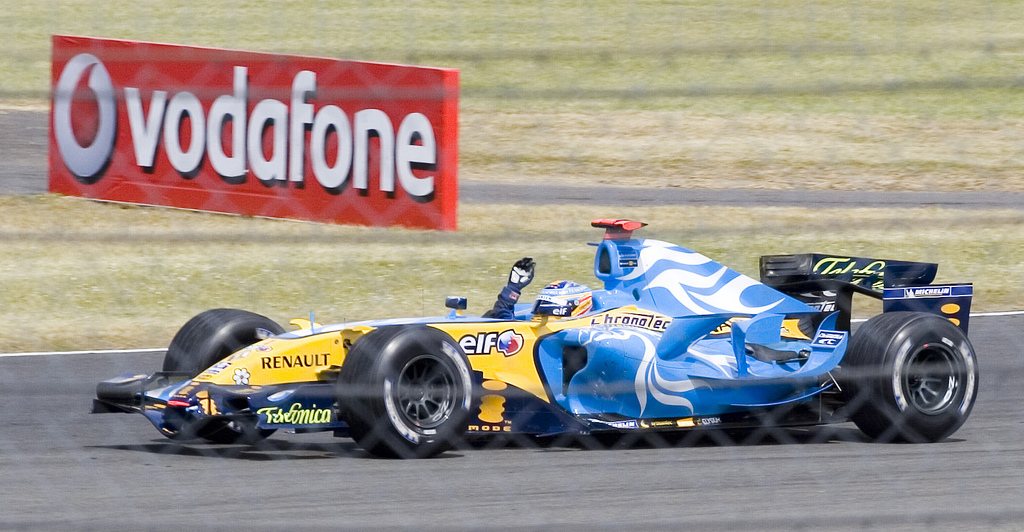 Fernando_Alonso_2006_Britain, 11 Ιουλίου