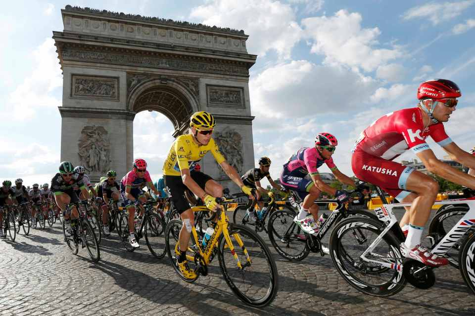 Τερμάτισε ο 104 Ποδηλατικός Γύρος Γαλλίας - Epitrohon