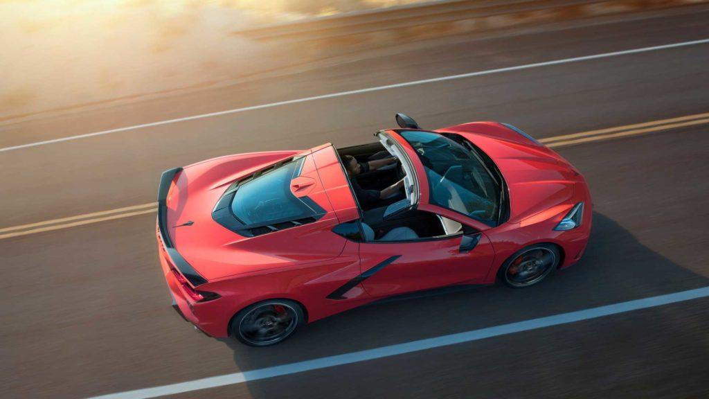 νέα Chevrolet C8 Corvette