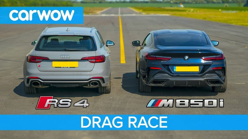 Audi RS4 vs BMW 850i