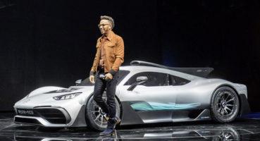 Ο Hamilton είναι ενθουσιασμένος με την AMG One